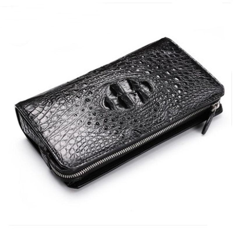 Fenge crocodile leather clutch bag male business leather high-capacity clutch bag crocodile leather men clutch bag