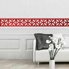 10Pcs Einfache Wand Aufkleber Adhesive Möbel Filme Platz Kreative Mode Folie Wand Aufkleber Wohnkultur