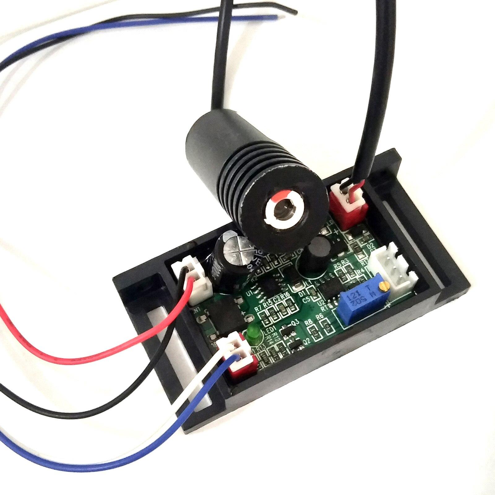 405 нм 100 мВт фиолетовый% 2F фиолетовый синий точка лазер модуль 18x45 мм w +% 2F TTL +% 26 DC12V драйвер