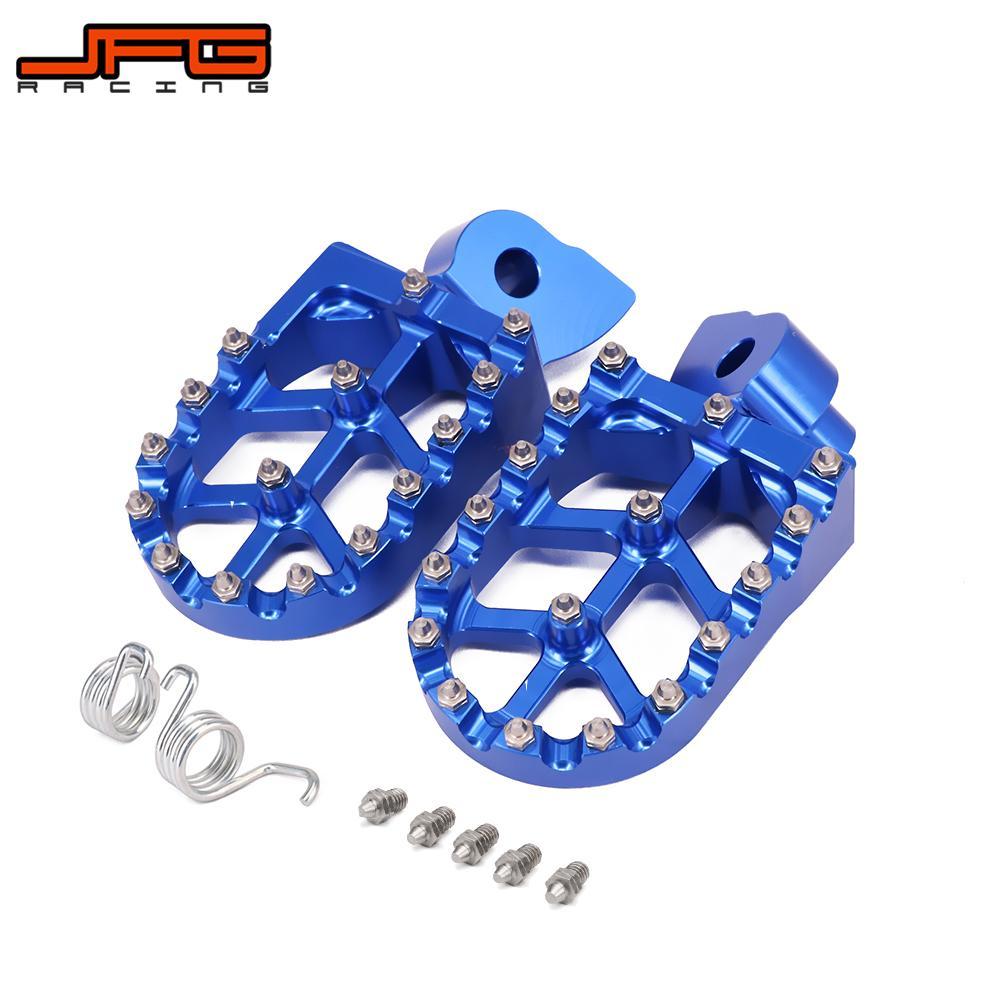Мотоцикл CNC подножки для ног подставка для ног педали для YAMAHA YZ 85 125 250 YZ250F YZ426F YZ450F WR250F WR400F WR426F WR450F
