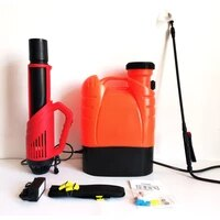 16l electrostatic fogger cordless battery sprayer backpack disinfection fogger machine with air blower