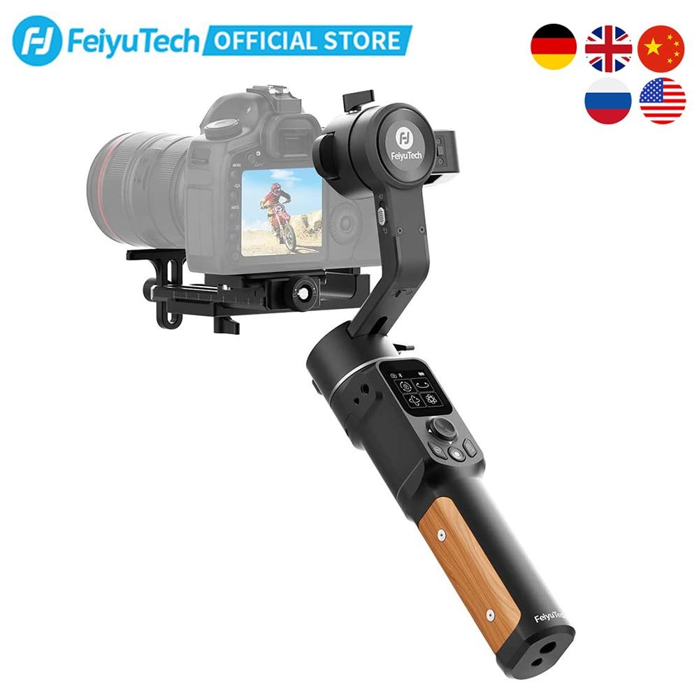كاميرا FeiyuTech الرسمية طراز AK2000C DSLR المثبت 3 محاور مثبت انحراف لوحة تحرير قابلة للطي لكانون سوني باناسونيك ونيكون