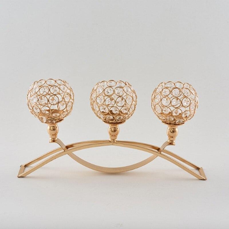 Candelabros modernos para decoración De Hogar, soporte De Velas, centros De mesa...