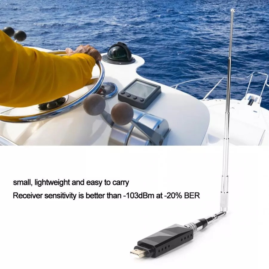Marine Boat Dual Channel USB AIS Receiver with USB Output AR-10 New enlarge