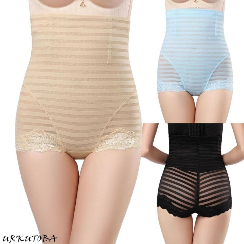 Mujer estiramiento cintura alta faja pantalones Body Shape panza Control formando pantalones ropa interior