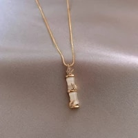 light luxury necklace womens fashion net red ins cold wind clavicle chain high sense simple temperament necklace