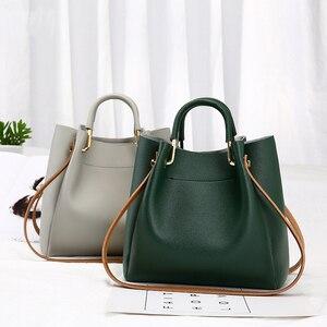Women Bag Bucket Bag Korean Version Of Simple And Versatile Ladies Crossbody Handbag Shoulder bag