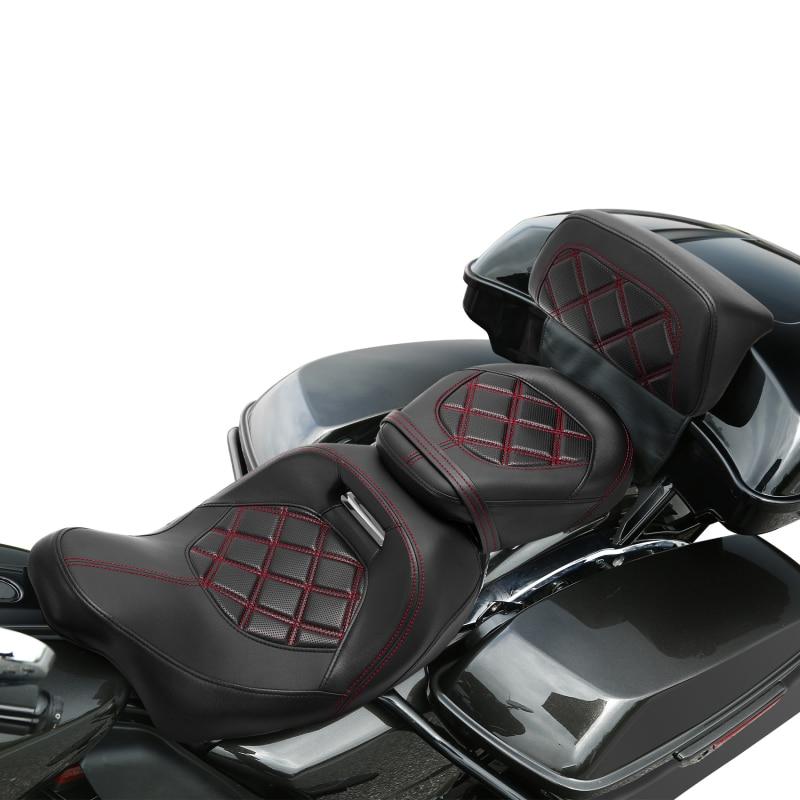 مسند ظهر لمقعد السائق للدراجة النارية لدراجة Harley Touring Road Glide Street Glide FLHX 2014-2021