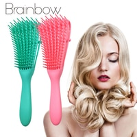 Brainbow расческа массажная Расческа головы, вьющихся волос, для женщин мужчин, салон