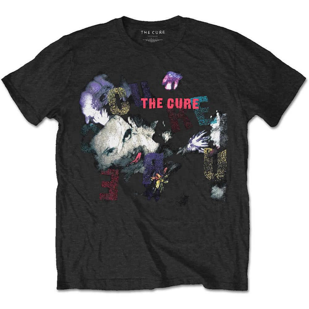 Camiseta de algodón con licencia Robert Smith The Cure The Prayer Tour 1989 para hombres y adolescentes