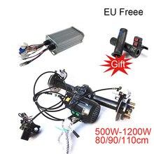 Tricycle accessoires Brushless différentiel moteur électrique 48 V/60 V 500 W/1000 W Tricycle essieu arrière différentiel essieu moteur Kit