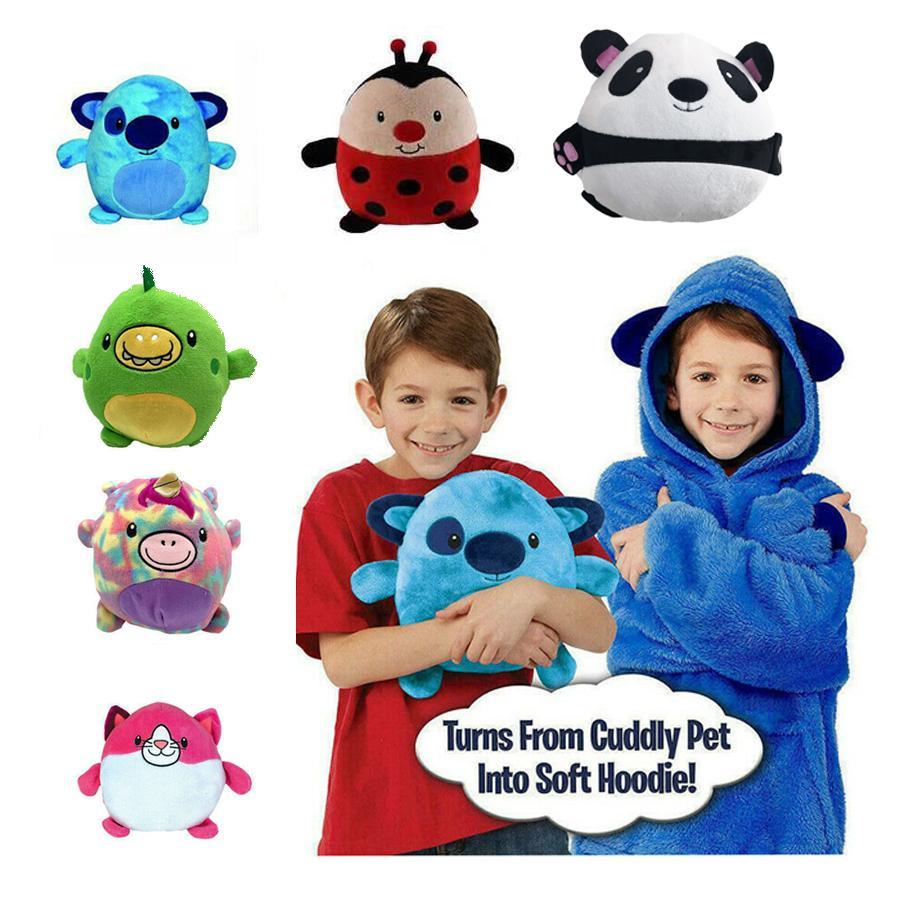 هودي للأطفال على شكل حيوانات أليفة ، كنزة صوفية على شكل حيوان أليف ، كنزة شتوية للحيوانات الأليفة للأطفال