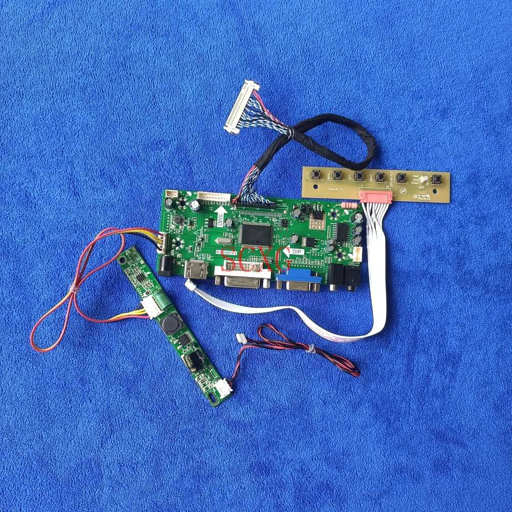 ل LM270WF5/LM270WF6/LM270WF7/LM270WF8 طقم مراقبة M.NT68676 لوحة القيادة LVDS 30 دبوس HDMI متوافق VGA DVI LCD/LED 1920*1080