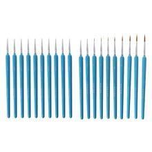 10 sztuk/zestaw 10 sztuk/zestaw profesjonalne wilcze włosy linii hak pióro grzywny pędzel do malowania zestaw długopisów artystyczny obraz akwarela akrylowe pędzel sztuki