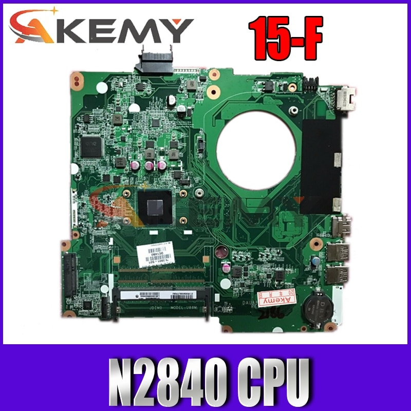 لوحة أم للكمبيوتر المحمول HP 15-F 786899-501 786899-001 M0DEL U88M DAU88MMB6A0 مع SR1YJ n2840 CPU لوحة رئيسية 100% تم اختبارها بسرعة الشحن
