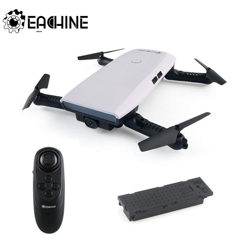 Eachine E56 720P WIFI FPV Selfie cuadricóptero plegable con Sensor de gravedad modo Fly Atitude mantener remoto RC Drone RTF helicópteros