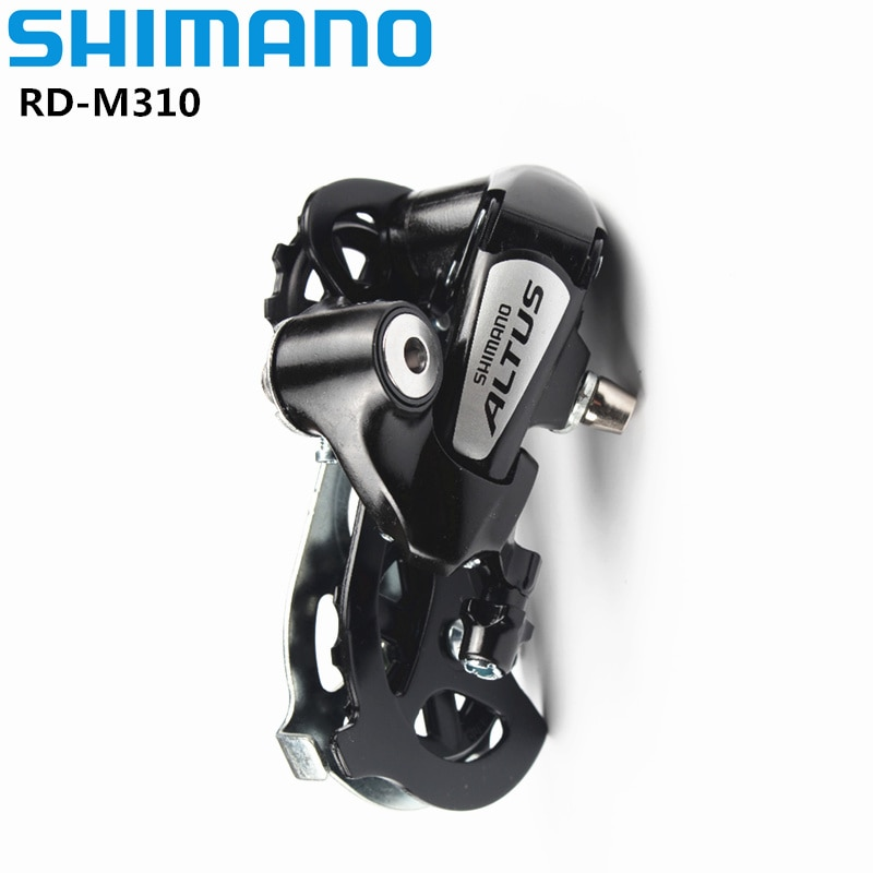 SHIMANO-Bicicleta de Montaña ALTUS RD-M310, M310, 7/8 velocidades, 3x7s, 3x8 s, desviador...