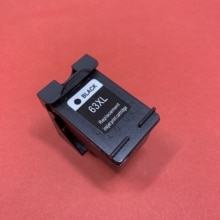 YOTAT kaseta z 1 sztuk Remanufacured pojemnik z tuszem do HP63 HP 63XL dla HP Envy 5640 5660 7640 5540 5544 5545 5546 5548 Officejet 5740 5741