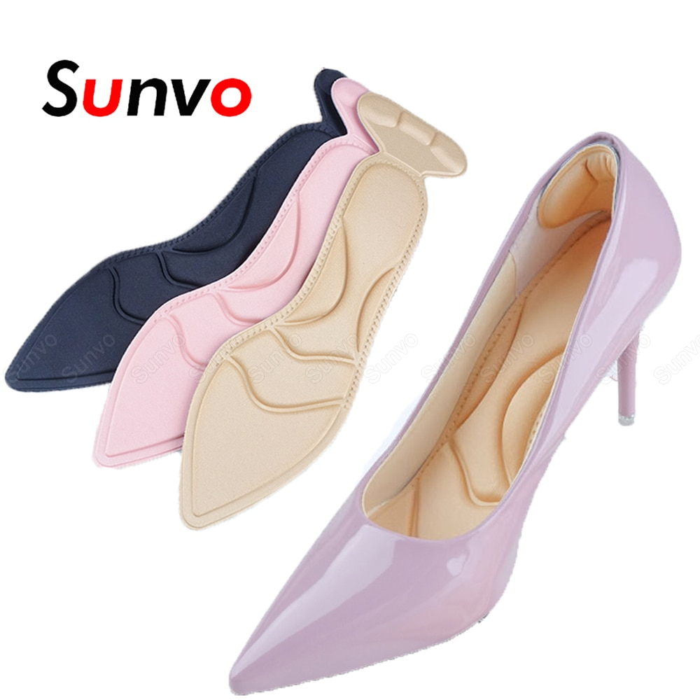 sports insoles for women men shoes pads arch support inserts foot soles massage shoe pad breathable soft pigskin latex cushions Sunvo Women Insoles for Shoes High Heels Inserts Heel Protector Foot Massage Arch Support Memory Foam Insoles Anti-slip Shoe Pad