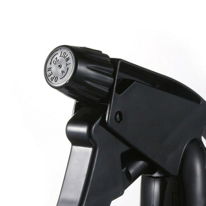 250ml Transparent Plastic Spray Bottle Empty Large Bottles Sprayer For Cleaner Stream Mist Essential Oils W2Q6