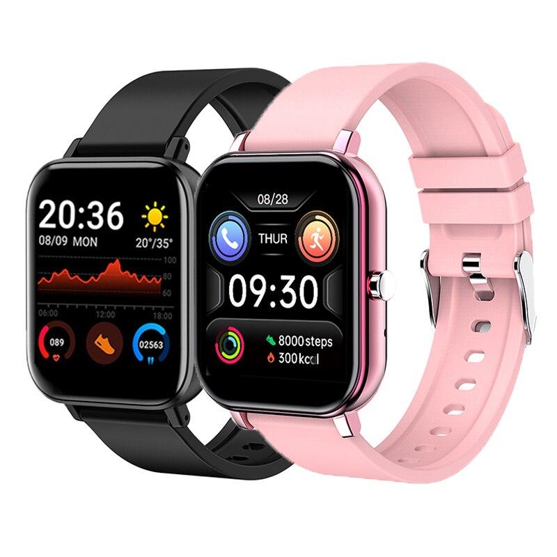 Модные спортивные Смарт-часы с пульсометром, умные часы IP67, водонепроницаемый фитнес-трекер, умные часы с Bluetooth для IOS, Android