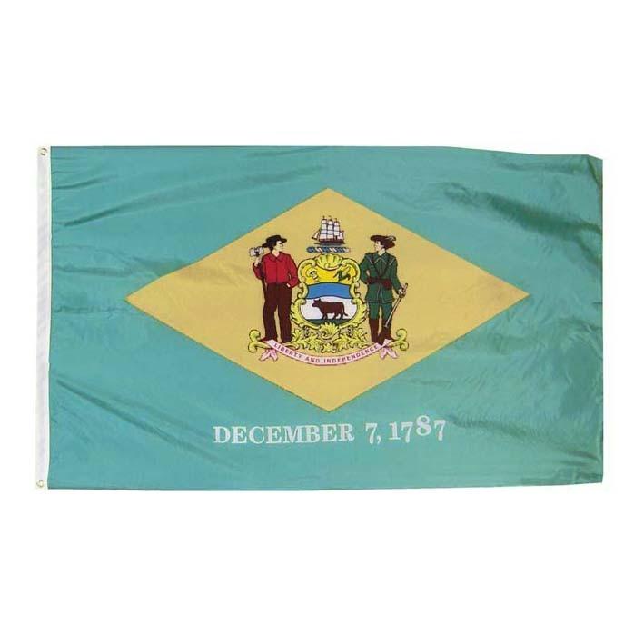 Xiangying 90x150cm Estados Unidos libertad e independencia 7 de diciembre 1787 Bandera de delaware