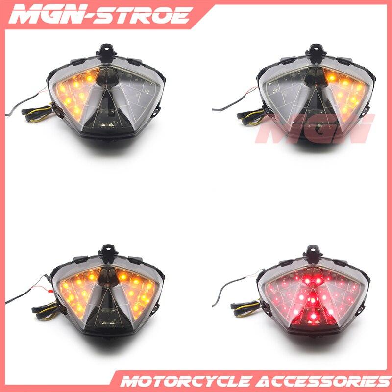 Luz trasera de la motocicleta señales de giro de luz Led integrada lámpara intermitente para HONDA CBR300R CB300F 2015-2018 CBR250R 2011 -2013