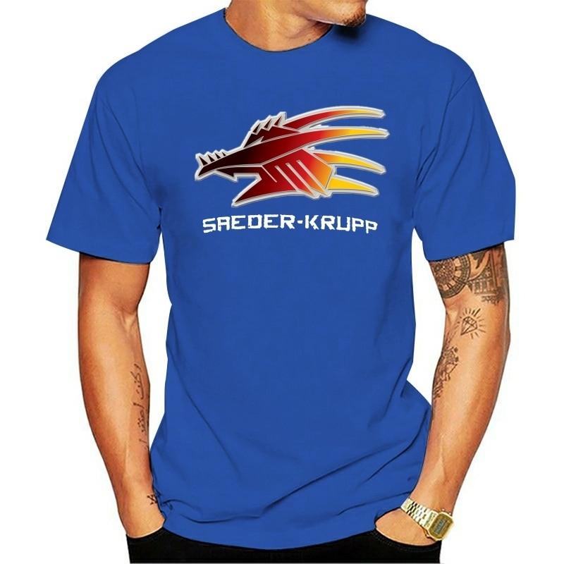 Saeder-Krupp T camisa Saeder Krupp Corporation logotipo Shadowrun de dragón