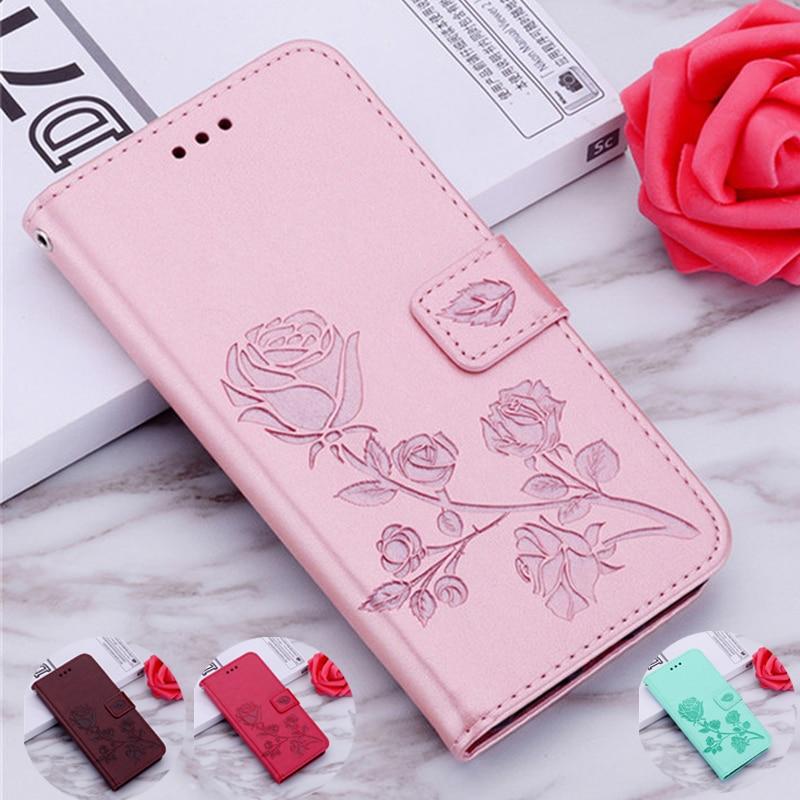 Funda de cuero rosa para Blackview A80 Pro A60 Pro A20 A30 A7 S8 P6000 Fundas de teléfono para Blackview A60 Pro