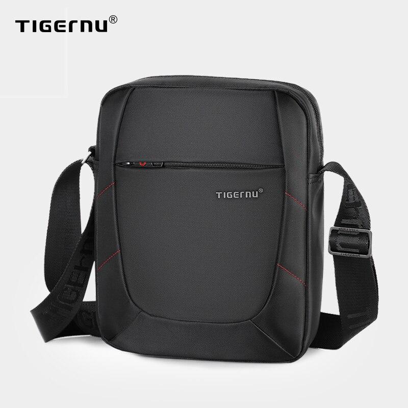 Tigernu Brand Shoulder Bag For Men Male Messenger Bag Men 10 Inch Black Men Bags Crossbody Bags Small Handbag Casual Business