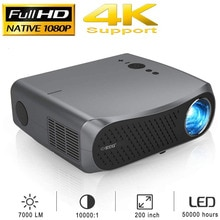 900D Full HD 1080P Projectors LCD 1920x1080 Support 4K For Home Cinema Theater Gaming Outdoor Movie�