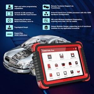 """Image 5 - ThinkCar Thinktool плюсы автомобиля Инструменты 10 """"двунаправленный obd2 инструменту диагностики 28 клавиша сброса программы эбукодирования x431 v плюс Autel"""