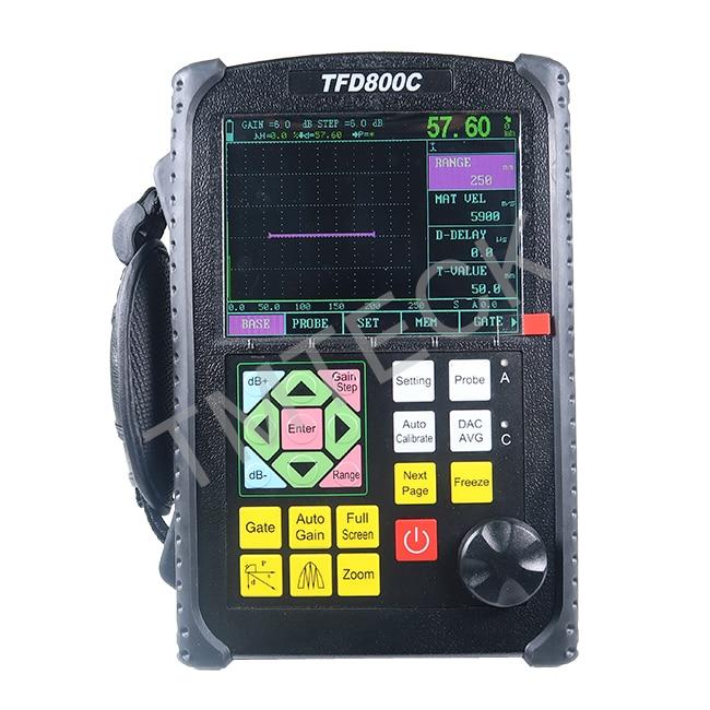 TFD800C المحمولة UT Flaw ، كاشف بالموجات فوق الصوتية