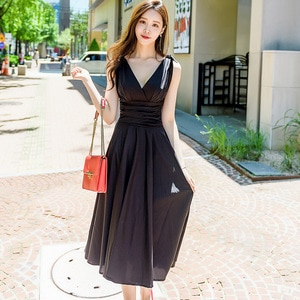 2020 Office Lady Vintage Bodycon Sexy Party Aline Dress Summer Dresses Black Yellow Spaghetti Strapless Backless Women's Dress