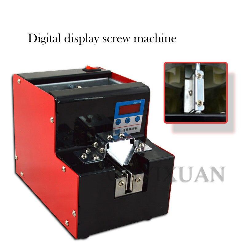 CNC מכונה ספירת אוטומטי בורג מכונת מתכוונן מסלול בורג הסדר ספירת בורג דלפק