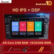 DVD dautoradio DSP IPS 2 Din Android 10   Pour Opel Vectra C Zafira B Corsa D C Astra H G J Meriva Vivaro, Navigation GPS multimédia