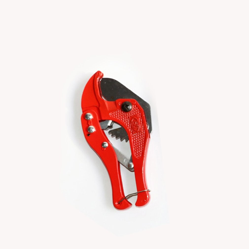 Brand New 42mm PVC Aluminum Plastic Pipe Water Tube Hose Cutter Scissor Knife Cut Ratchet Plumbing Tool Hand Tool Red 1pc PE