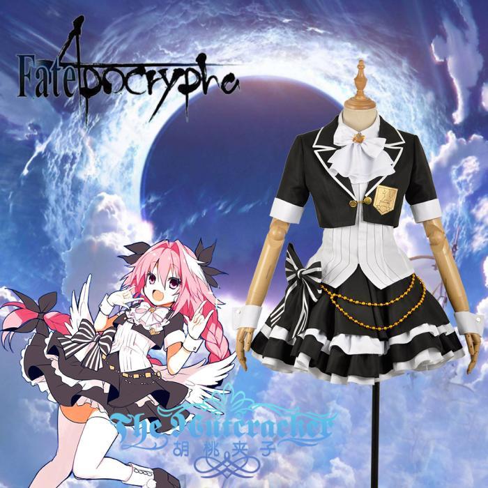 Juego caliente Fate/Apocryphacos Astolfo Cosplay disfraces uniforme ídolo traje para XS-XXL femenina o personalizado-hacer cualquier tamaño