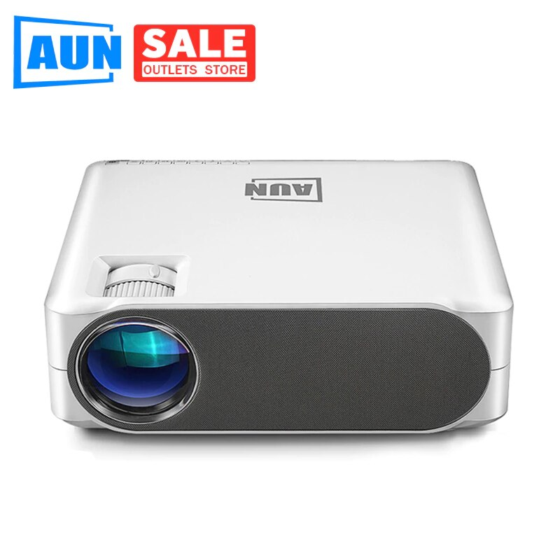 Aun akey6 akey6s 1080 p completo projetor hd 4 k 6500 lumens cinema proyector android wifi bluetooth jogo de vídeo 3d beamer