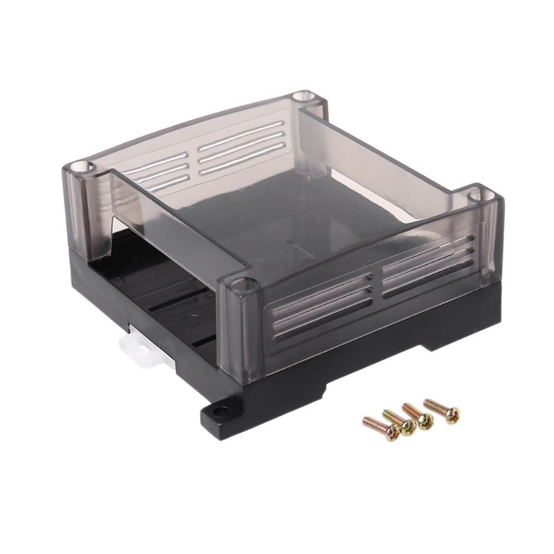 Caja de Control Industrial PLC de plástico transparente, caja de Control PLC enclosure, carcasa DIY de PCB 964E