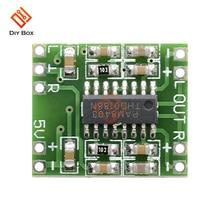 Mini PAM8403 2*3W Digital Class D Amplifier Board module Audio Speaker Sound Board 2.5V To 5V Modulo Amplificador volume control