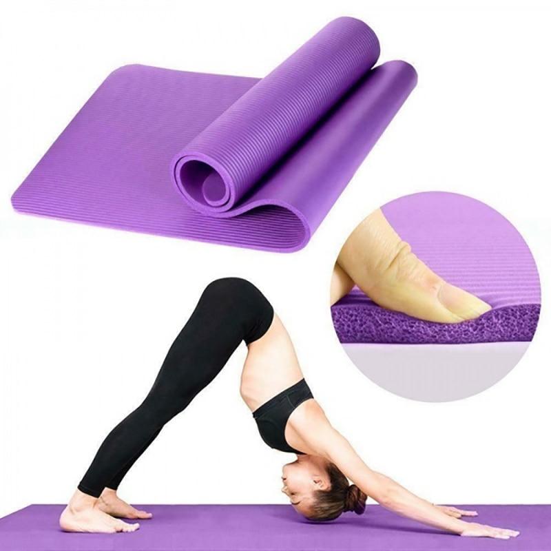 5 цветов коврик NBR коврик для йоги нескользящий NBR пилатес коврики для йоги для домашнего здоровья фитнес медитация коврик для фитнеса|Коврики для йоги| | АлиЭкспресс