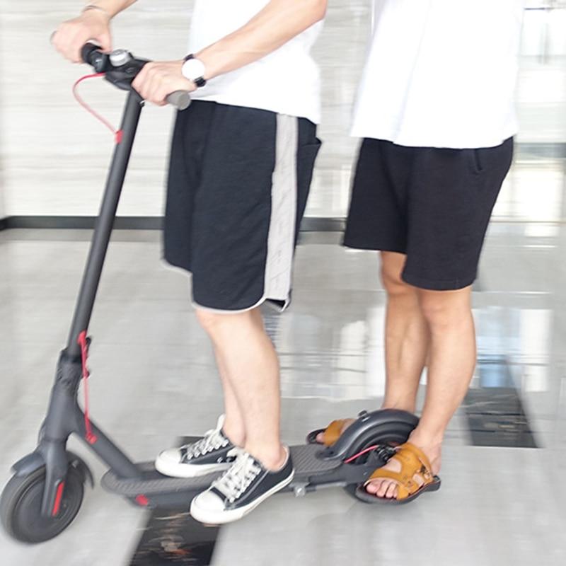 Juegos de pedales para patinete eléctrico Xiaomi M365, 1 par, repuesto en rojo/azul