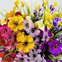 5 styleswedding flowersbalcony artificial plantsfake flowersindoor table vase decorchristmas decoration for home garden