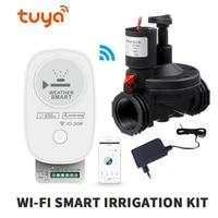 Tuya Wifi Smart Landbouw Tuin Irrigatie Controller App Automatisch Sproeisysteem Timer Ondersteuning Multi-Kleppen Controll Smart Home