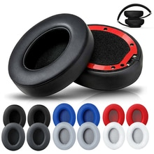 1 Pair Replacement Ear Pads Earmuffs Ultra-soft Sponge Cushion For Beats Studio 2 3 Wired Wireless H