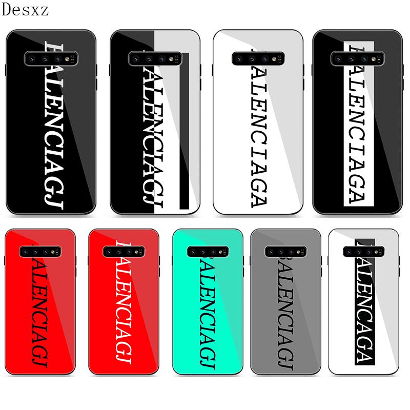Phone Case Glass for Samsung A40 A50 A10 A20 A30 A60 A70 A51 A71 S10 S7 Edge S8 S9 Note 8 9 10 Plus Cover BALENCI