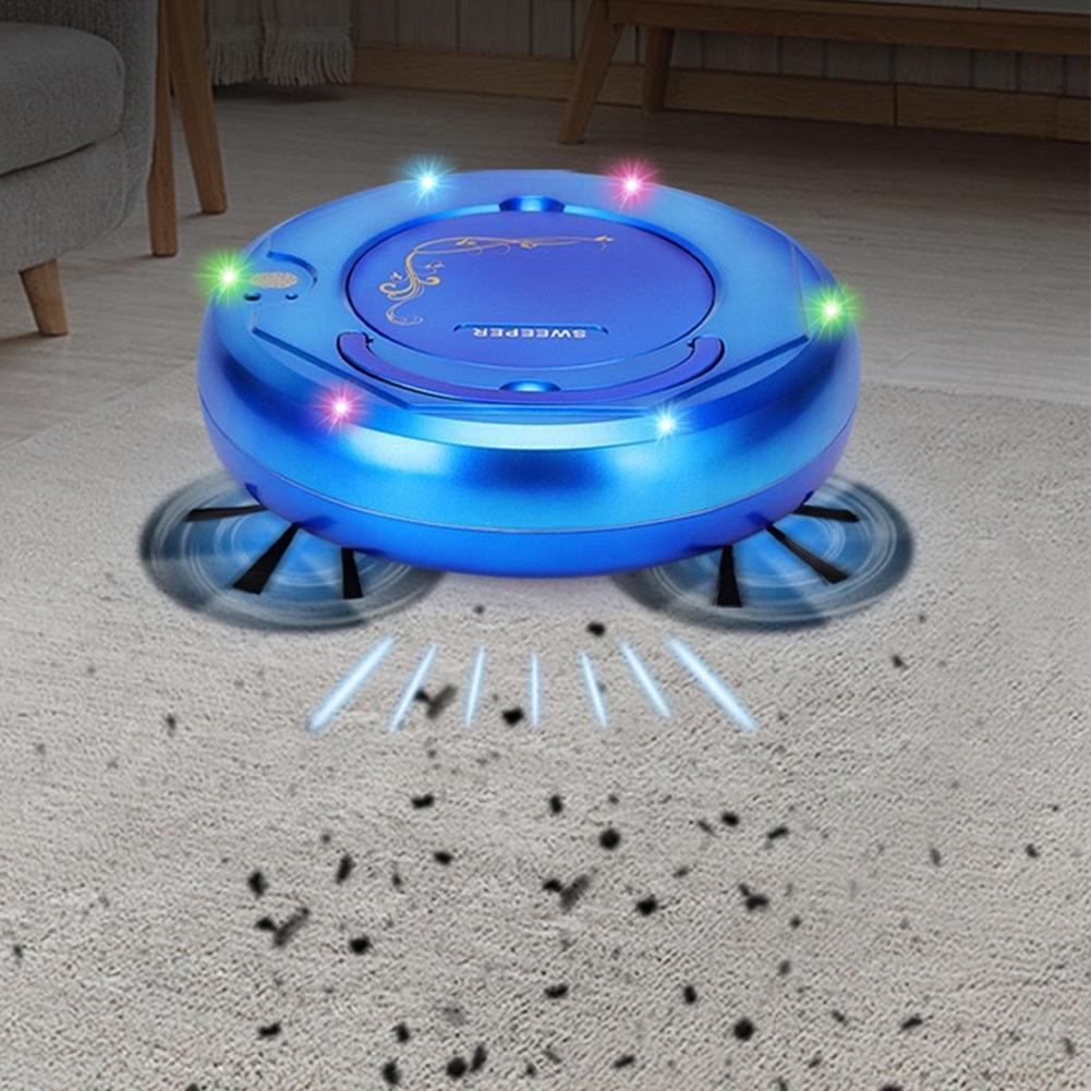 Aspiradora de bajo ruido Robot inteligente Auto recargable fregona húmeda en seco Robot de barrido piso de casa aspiradora herramienta de limpieza del hogar