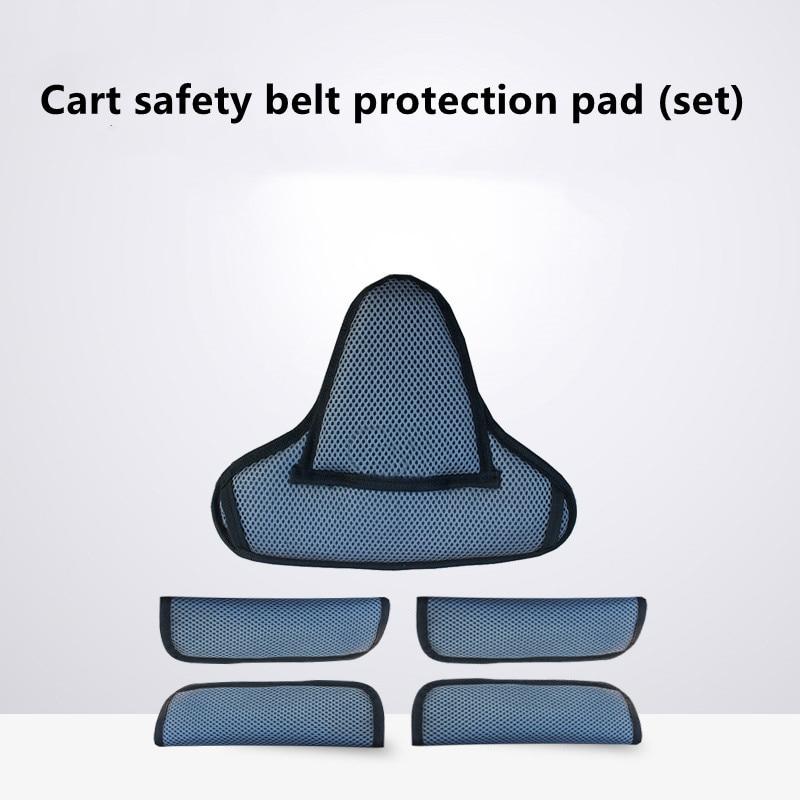 2021 новейшая детская Безопасность ремень плечевыми накладками и промежности защитные подкладки безопасность детской коляски Безопасность ...