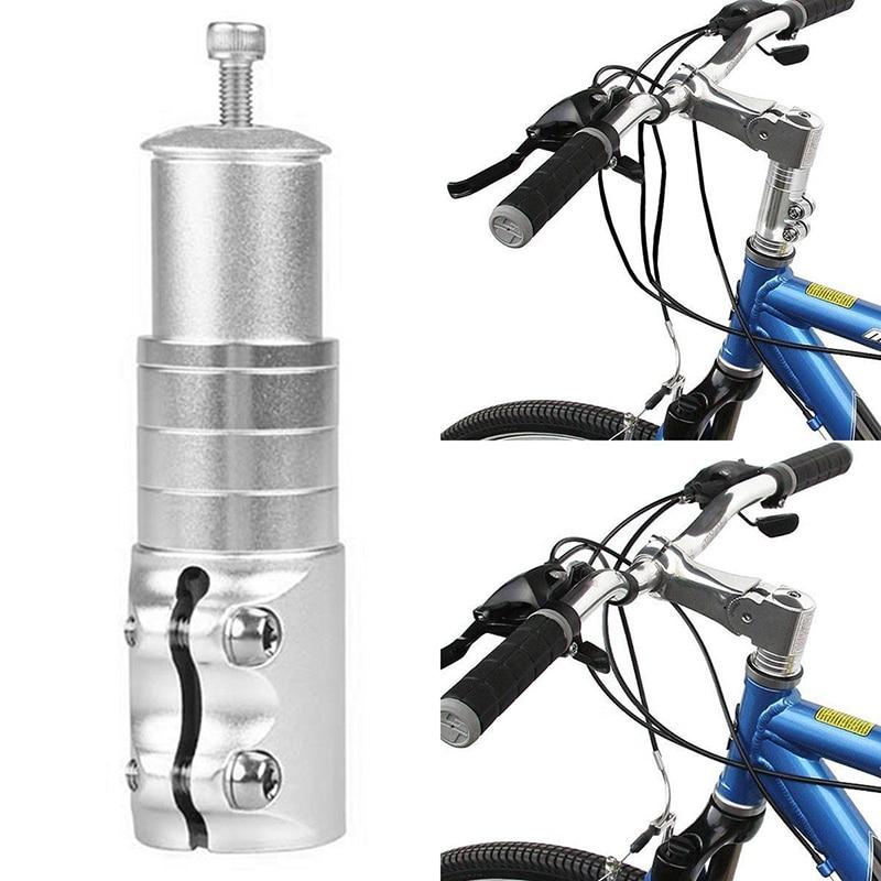 Elevador de vástago de manillar para bicicleta, extensor de horquilla hacia arriba, cabezales de extensión para bicicleta, adaptador duradero para bicicleta MTB, vástago de montaña, horquilla delantera para bicicleta, más alto